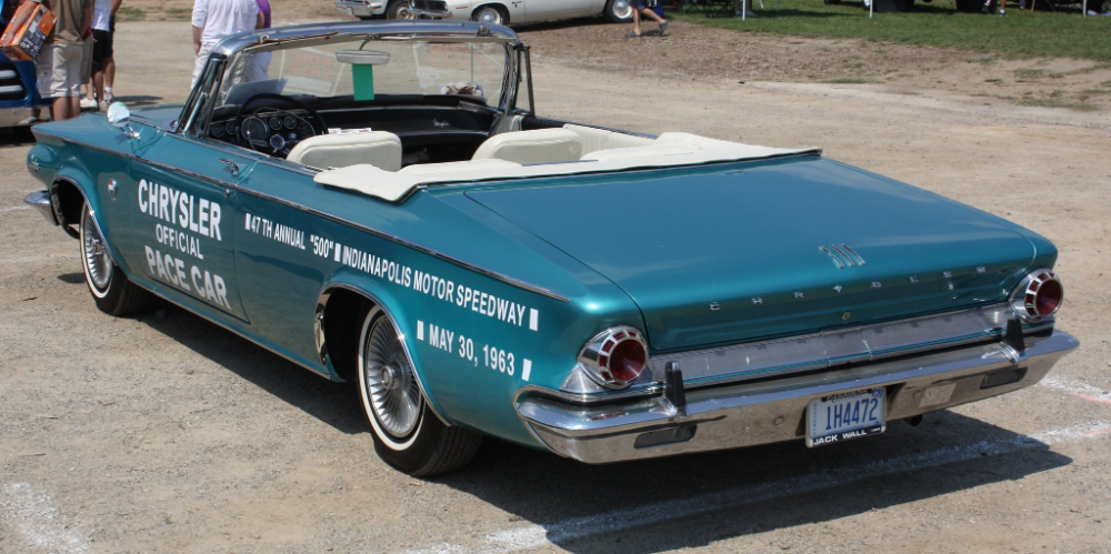 1963 Chrysler 300 Indy Pace Car convertible