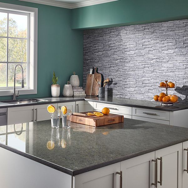 pin by art van furniture on tile inspiration for your next home design project gray quartz on kitchen interior tiles id=27106