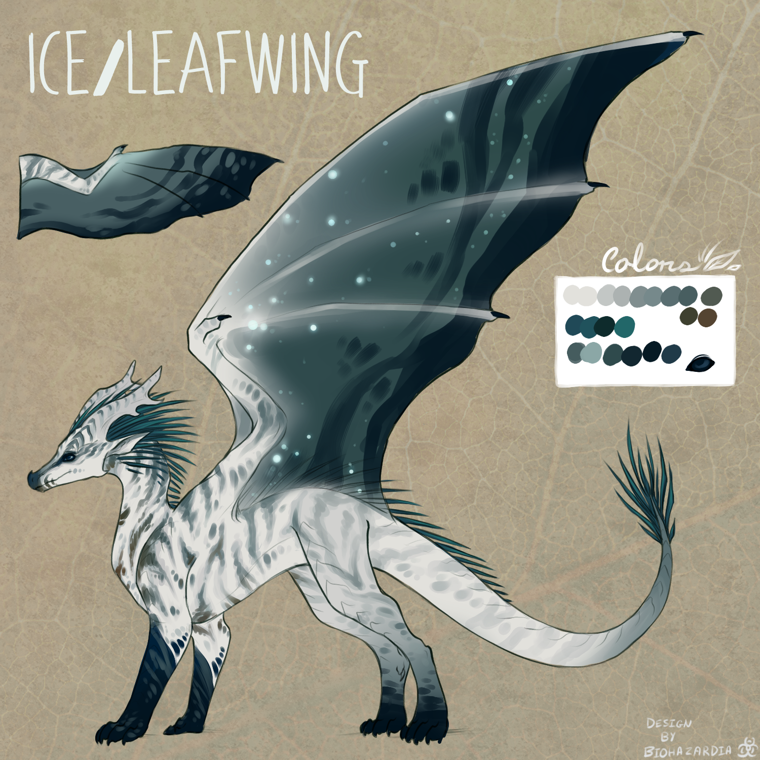 [Design Christmas Gift] Ice/LeafWing by Biohazardia