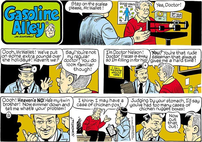 Gasoline Alley Comic Strip | alley gasoline alley comic strip 20160124csgas  s…