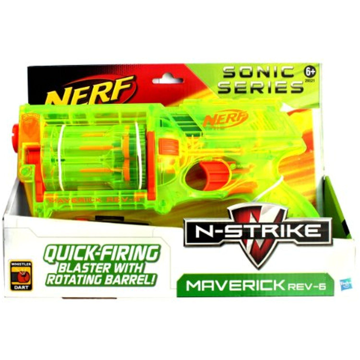 NERF N Strike Maverick Rev 6 Sonic Series Find out more about