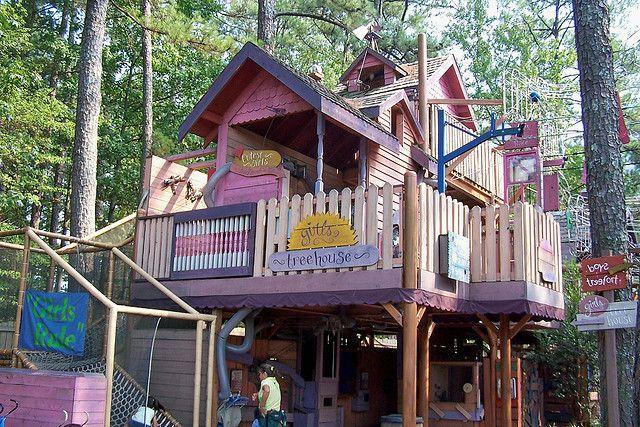 Children S Fantasy Treehouse Tree House Beautiful Tree Houses Tree House Diy