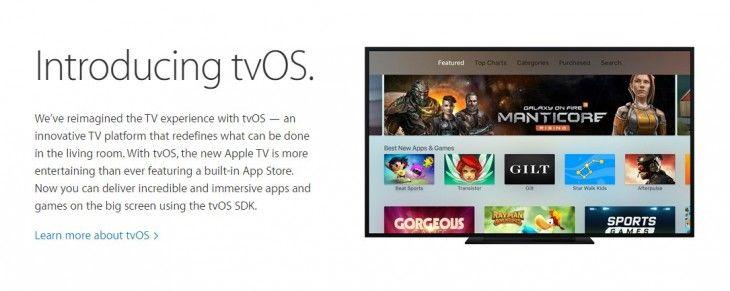 Sabías que Ya está disponible el kit de desarrollo tvOS SDK, para crear aplicaciones para Apple TV