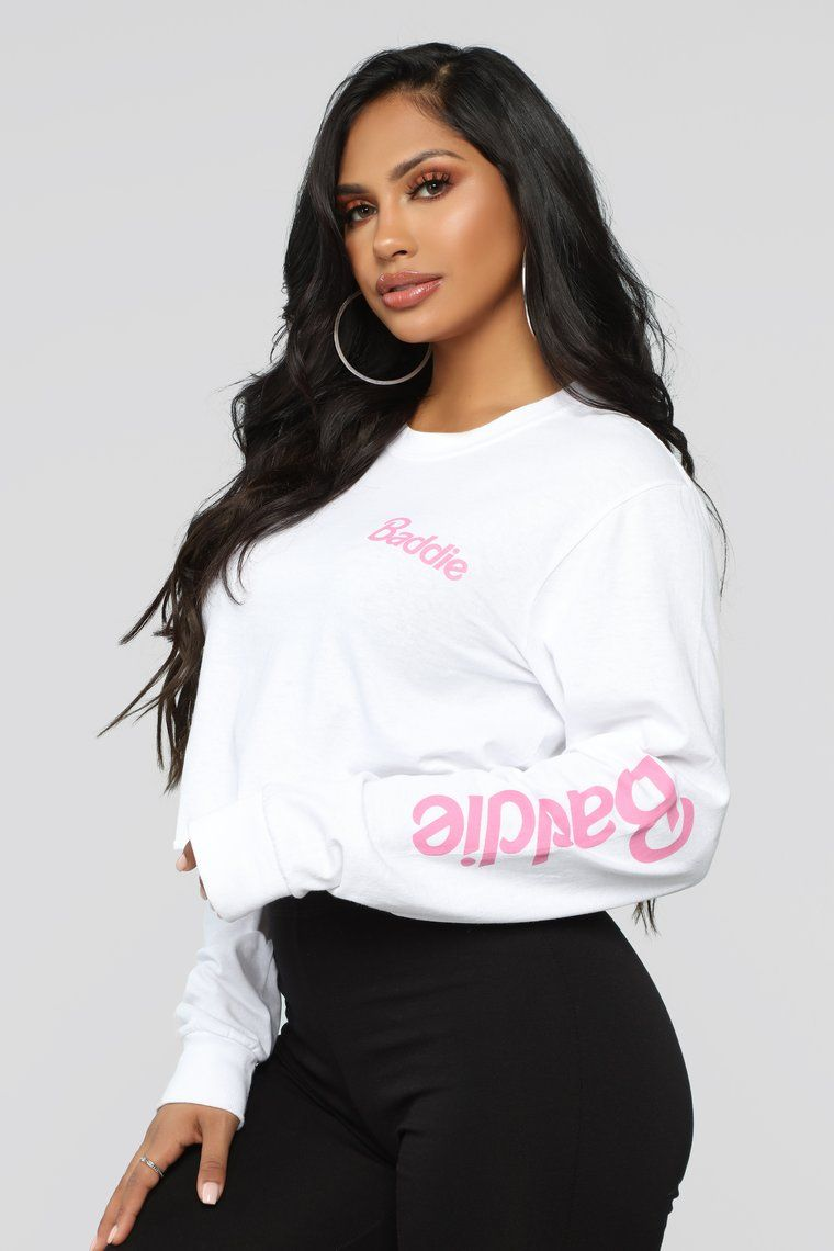 8d78bcdf8 Been A Baddie Top - White in 2019 | Outfits | Tops, Baddies, Fashion