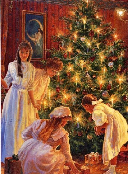 beautiful christmas scene from victorian times wwwchristmasgiftsfromgermanycom