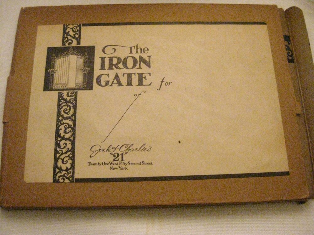 The Iron Gate of Jack & Charlie's