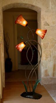 Renewal for the home pinterest blown glass floor lamp and glass renewal hand blown glassfloor lampscoralstanding aloadofball Images