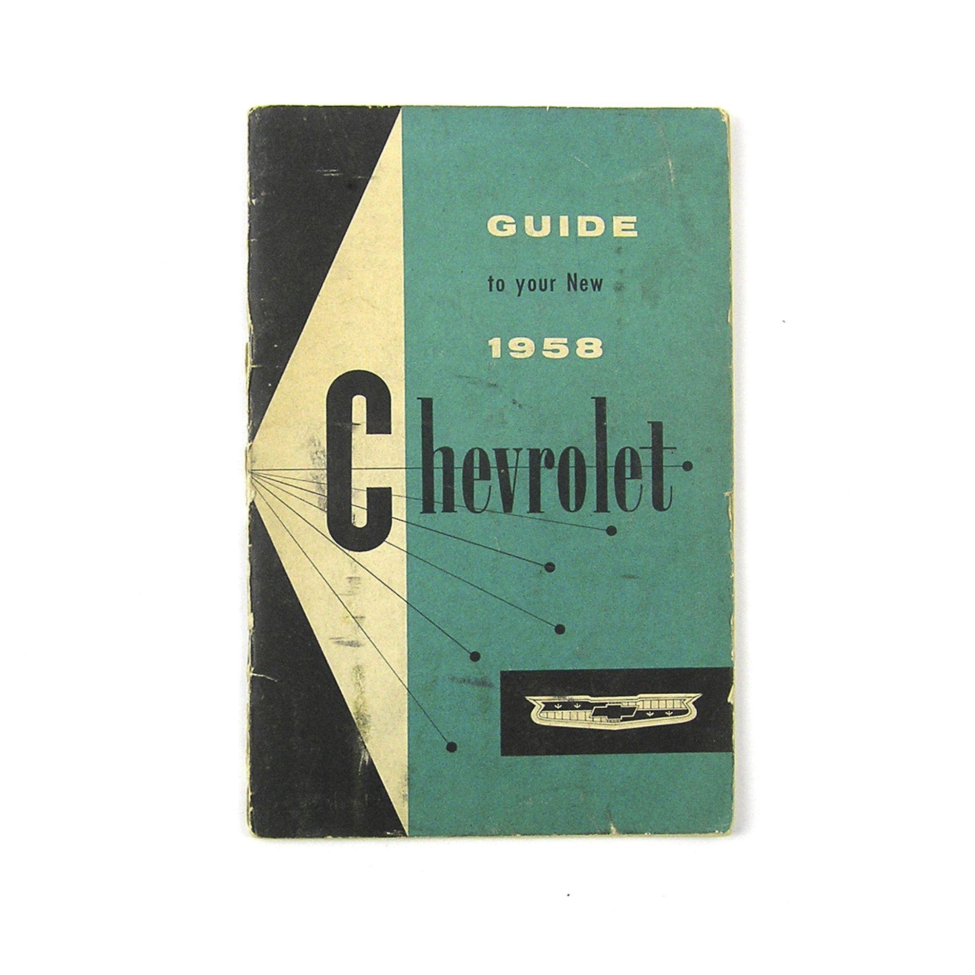 Buy 1958 Manual Guide