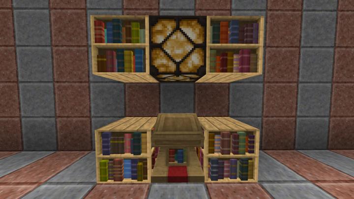 Bookshelves Lectern And Lamp Texture Packs Minecraft Texture