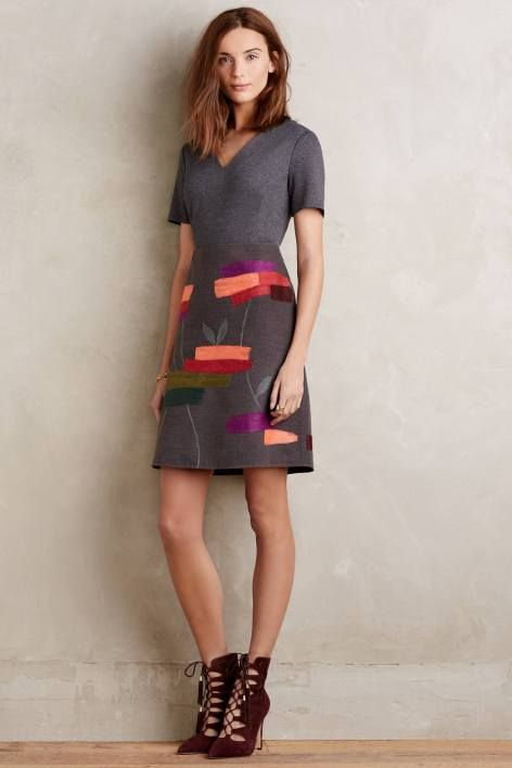 Embroidered Soliloquy Dress by Raoul | Pinned by topista.com