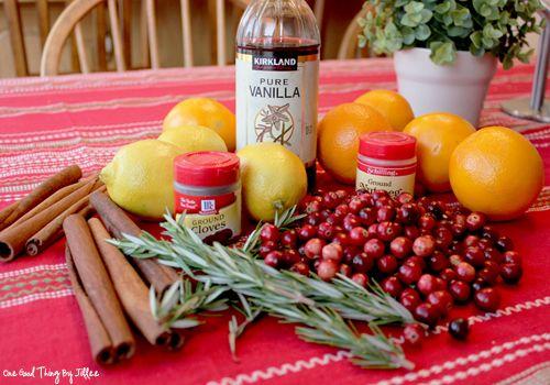 Simmering Christmas Potpourri | Recipe | Potpourri, Simmering ...