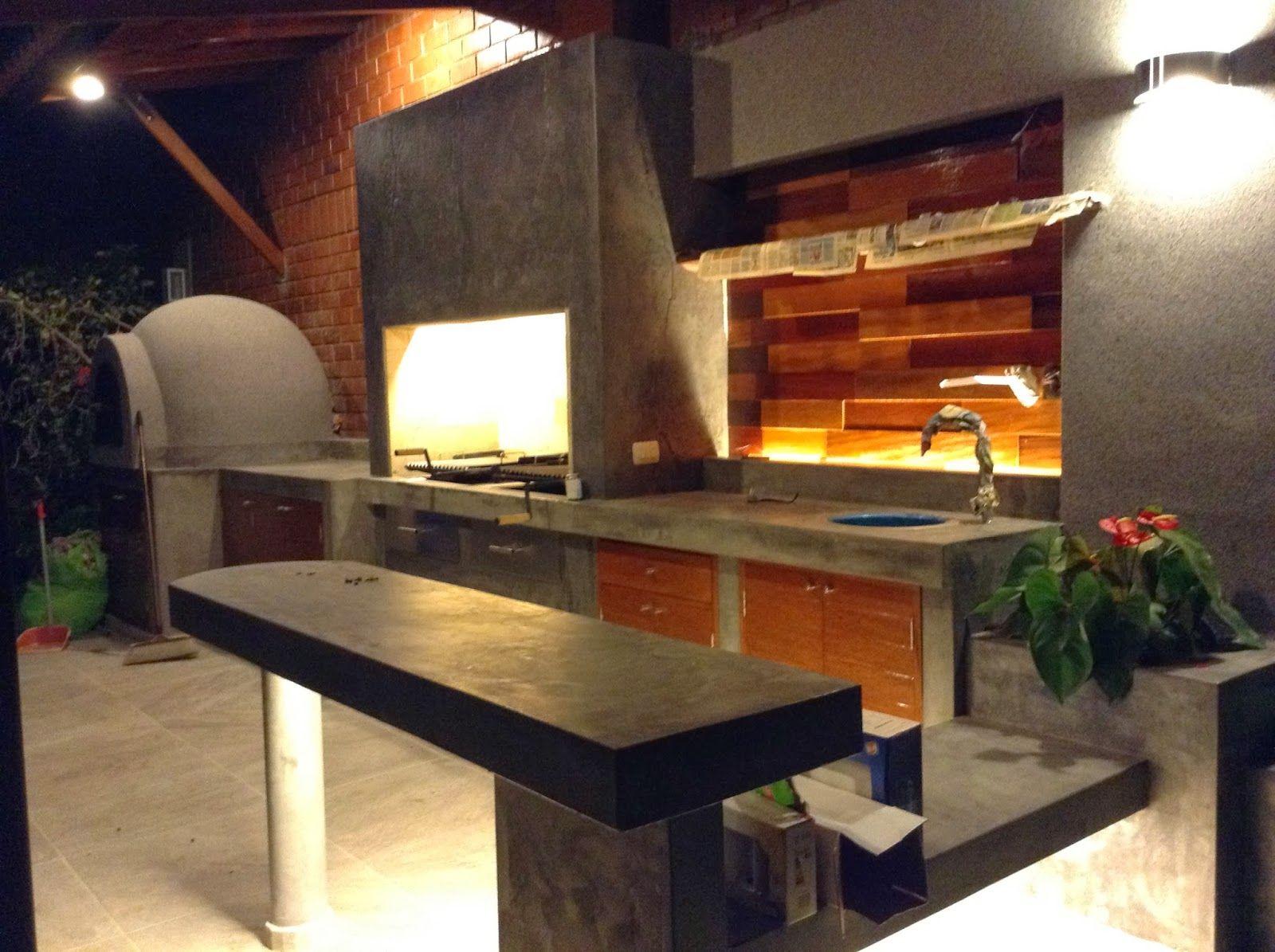 10 diseños de churrasqueras o parrillas | Planos de casas | Quinchos ...