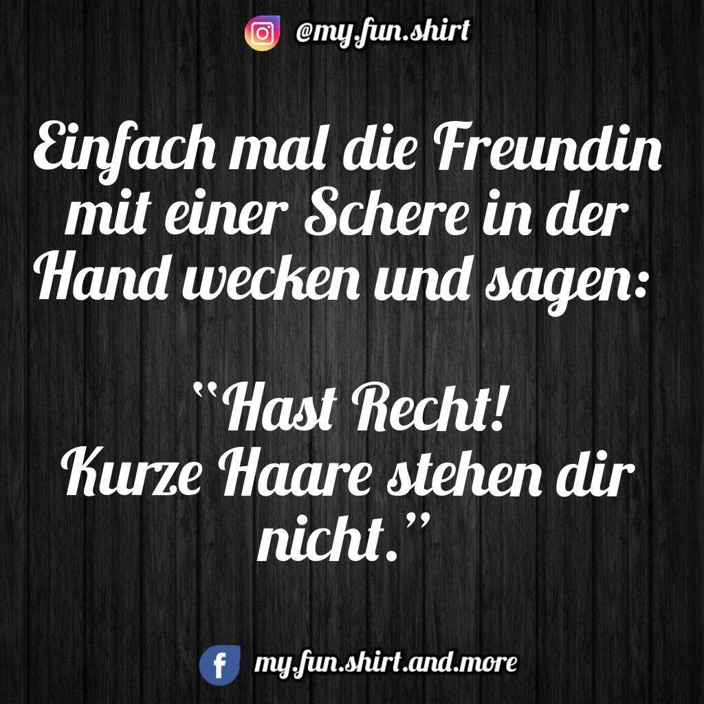 Lustige Spruche Kurze Haare Kinder Mode Funny Quotes Birthday Humor Humor Deutsch