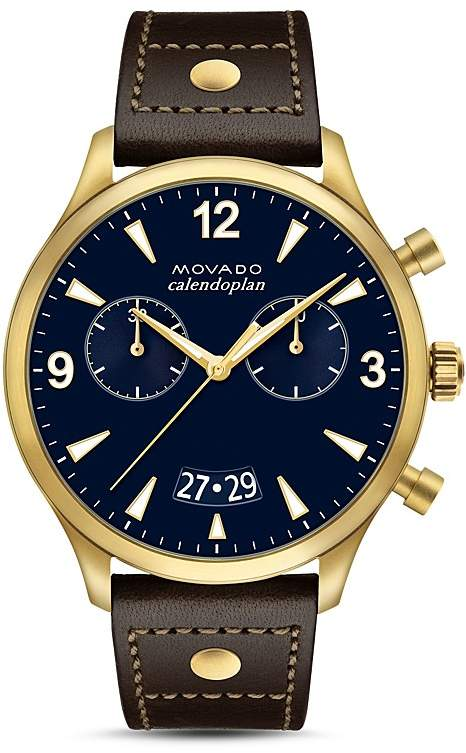664d825d2047 Movado Heritage Calendoplan Chronograph