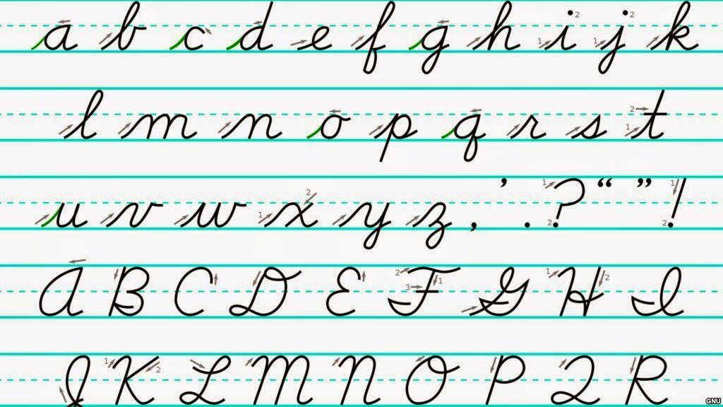 spalding cursive education cursive handwriting cursive alphabet penmanship. Black Bedroom Furniture Sets. Home Design Ideas