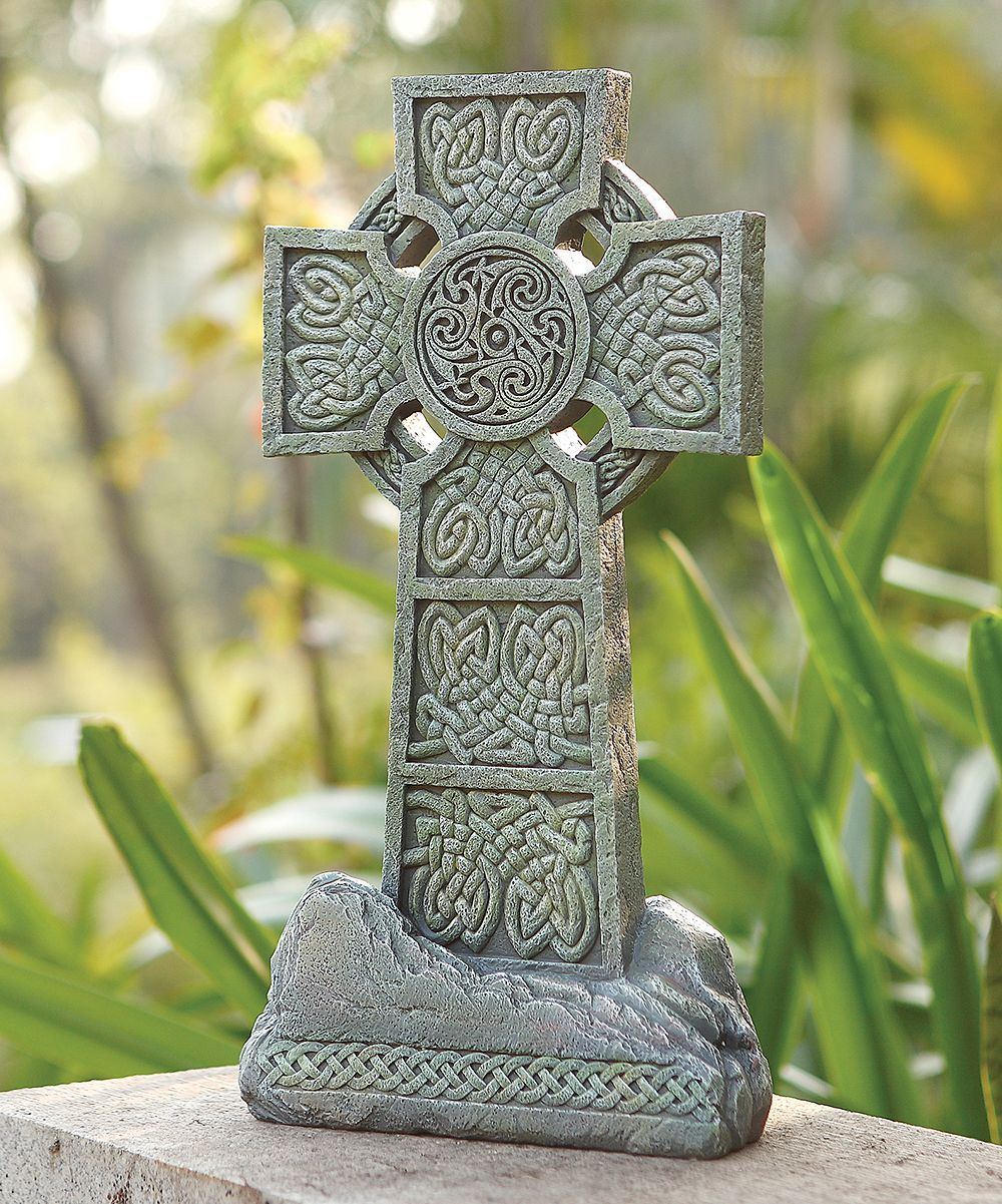 Celtic Garden Cross | Prayer garden