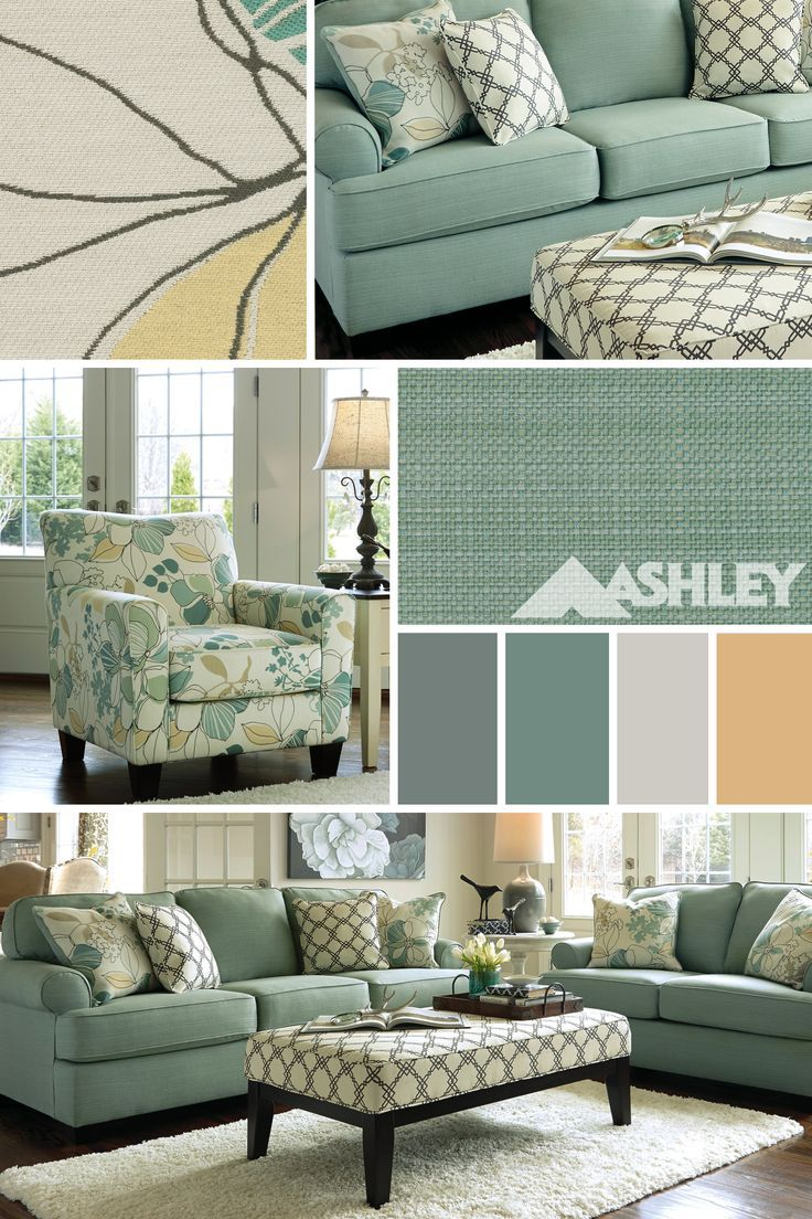No Reality For Me This Is My Livingroom Color Palette Love The New Greenish Blue Colors More Options To Go With Than What Shown