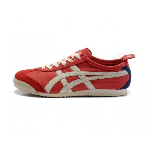 competitive price 19d96 113b9 Men's/Woman's Asics Onitsuka Tiger Mexico 66 Shoes Red Navy ...