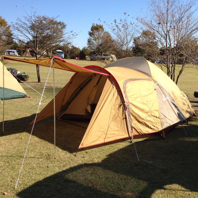 Drifta Kitchen Plans: I Was First Set Up The Tent Of Snow Peak !