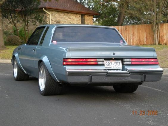 Buick Grand National Chin Spoiler Google Search Classic Cars Muscle Buick Regal Buick Grand National