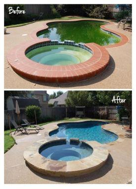 Pool Remodel Pool Remodel Pool Makeover Swimming Pool Remodeling