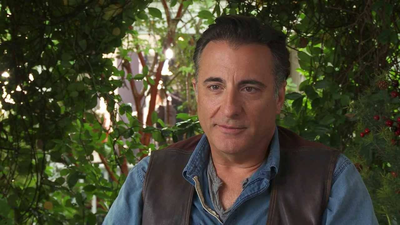 andy garcia from the movie that riley was in christmas in conway - Christmas In Conway Cast