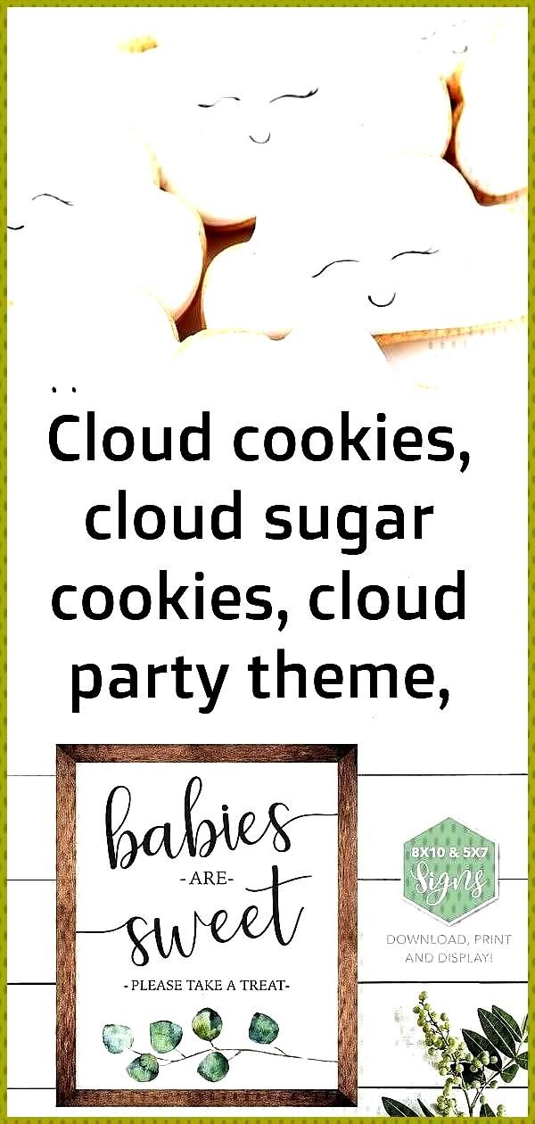 cookies cloud sugar cookies cloud party theme clouds unicorn party unicorn theme unico 3 Late Night
