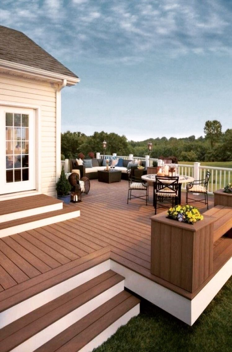 Would Love A Deck Like This In Arizona! This Deck Is