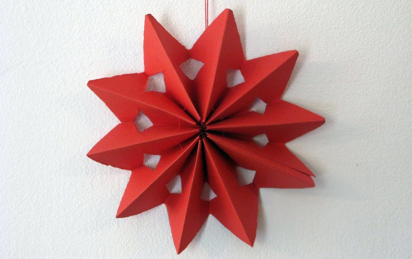 Manualidades Para Decorar Estrella Star Paper Crafts Paper Flowers Crafts