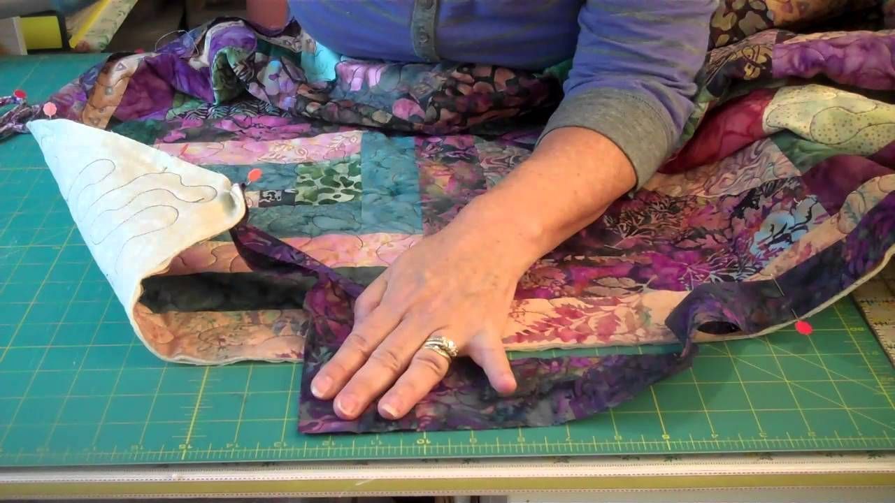 How to bind a quilt 2 of 2 playlist quilting