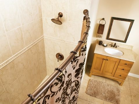 Replacing Shower Stall Doors With Curtain