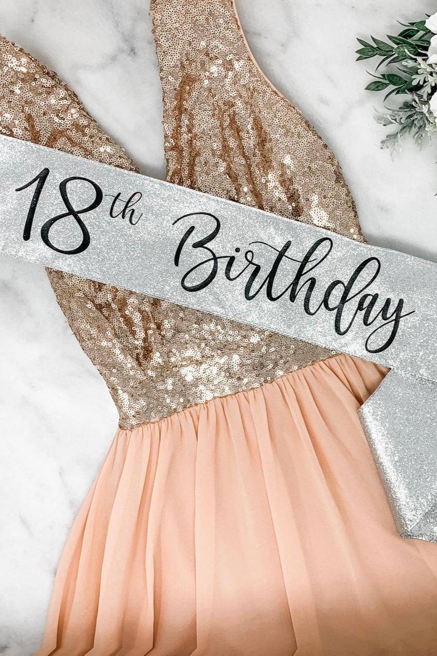 Glitter Birthday Sash 21st Birthday Sash 30th Rose Gold Etsy Birthday Sash 21st Birthday Sash Glitter Birthday