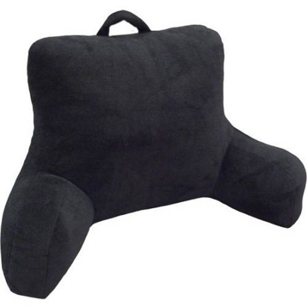 Bed Rest Pillow Back Support Bedrest Soft Cushion Reading Plush Tv