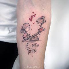 Bild könnte enthalten: eine Person oder mehr -  - #tattooideen