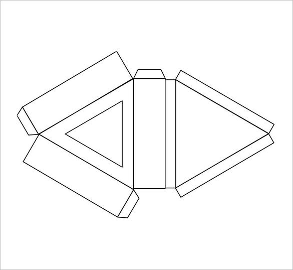 Triangle Box Template 10 Free Pdf Format Download Free
