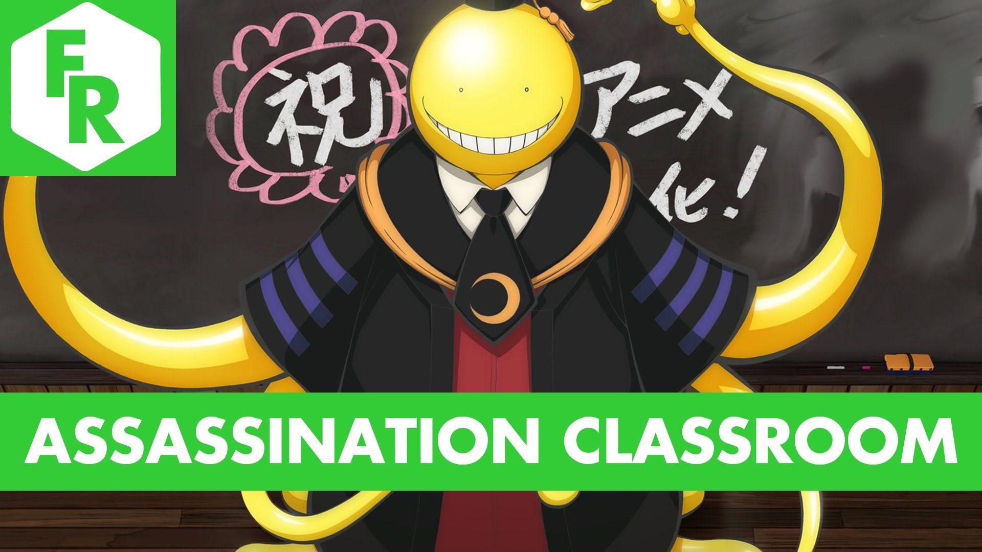 First Reaction Assassination Classroom Ep 0103