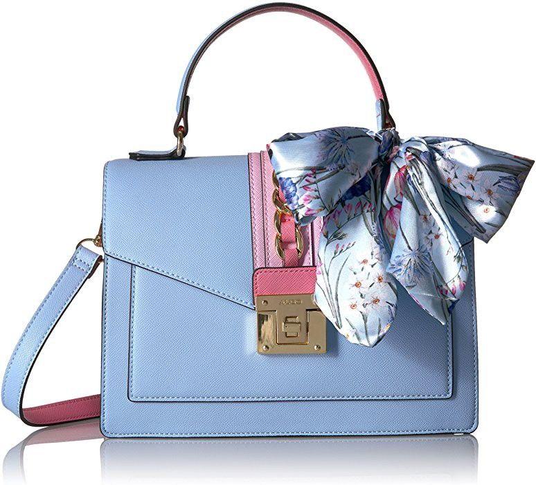 db5295dcef Aldo Glendaa Top Handle Handbag Features 90% Polyurethane