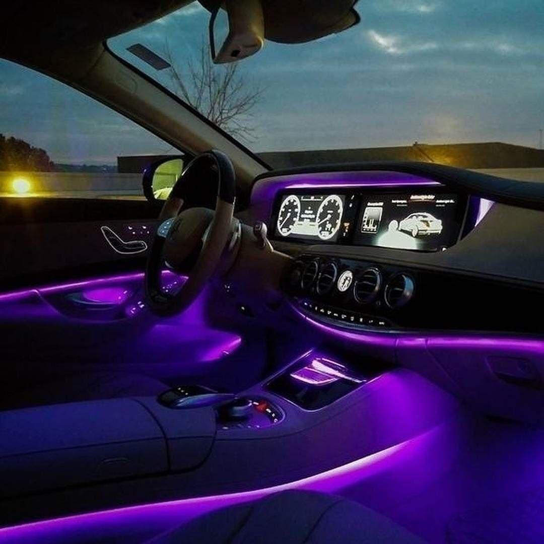 Purple Reign Mercedes Benz Instacar Carsofinstagram