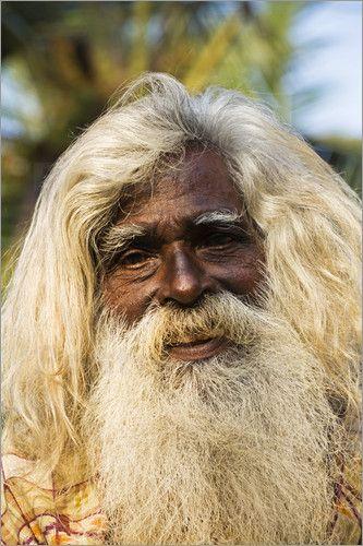 Anders Blomqvist An Old Man With Long Hair And Beard Long Hair Styles Men Long White Hair Beard