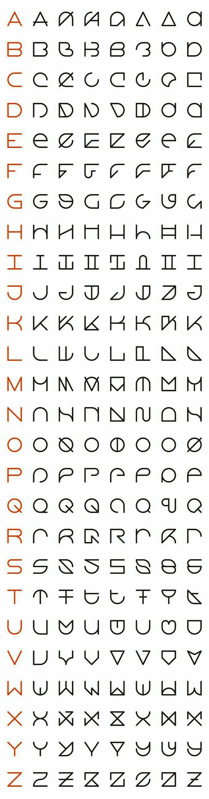 Pin by nurul jannah on typography pinterest minimalist fonts logos biocorpaavc Images
