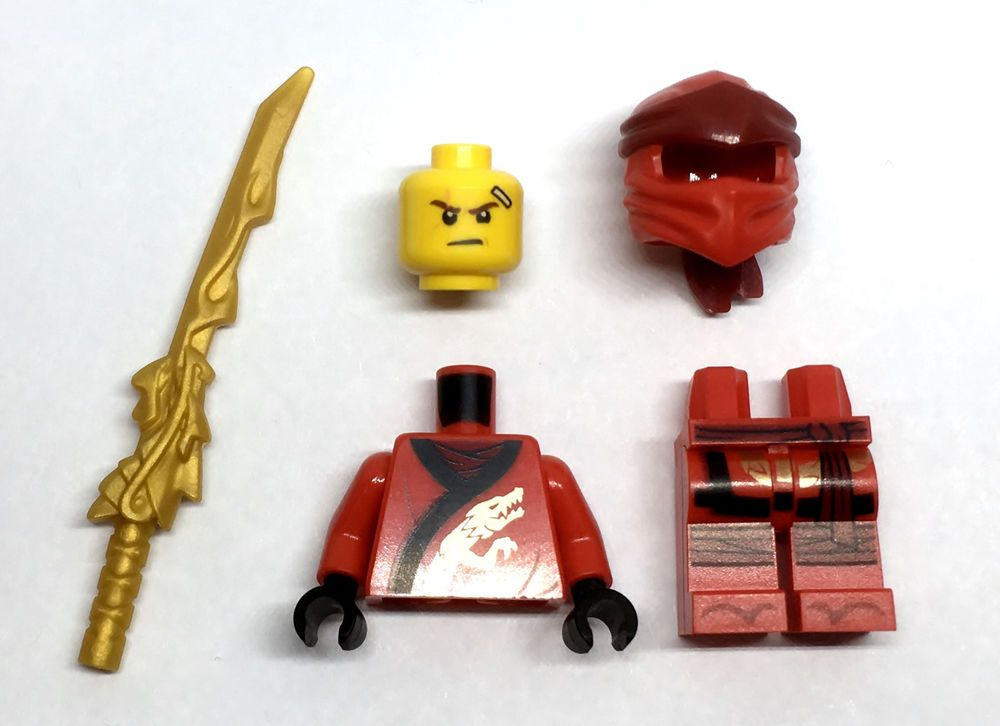 LEGO NINJAGO 70500 KAI Minifigure NEW