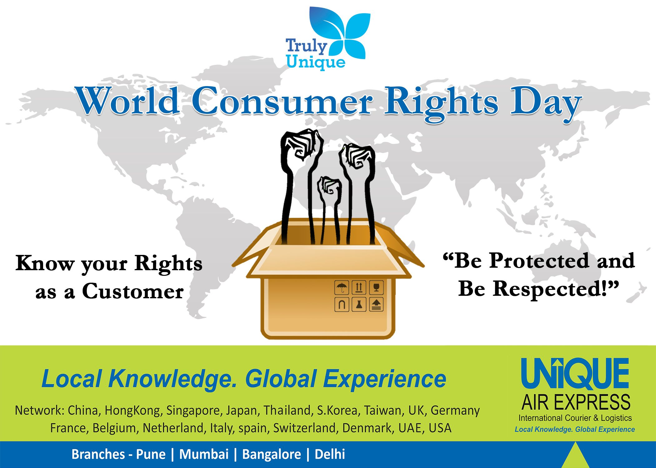 Consumer Rights Day Expressions Day Consumers