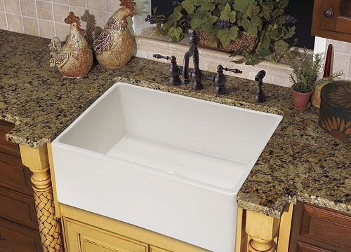 Franke Kitchen Sinks Farm House FHK710-30 Fireclay White | El Arroyo ...