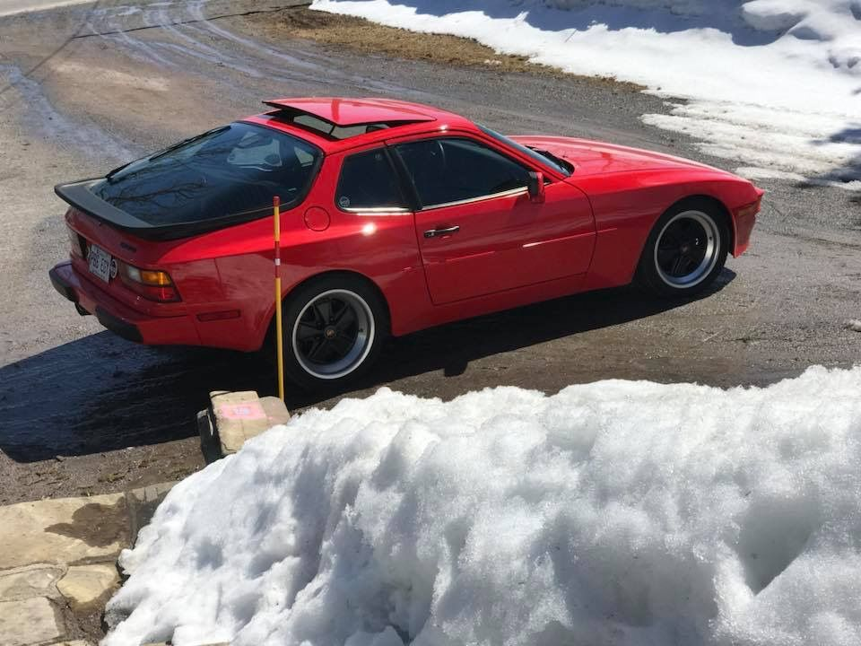 Porsche 944 Snow Porsche 944 Porsche Porsche 924s