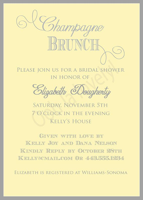yellow and grey champagne brunch bridal shower by oohlalovely 3500