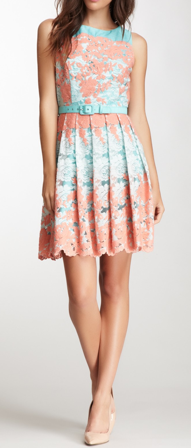 Tea Party Lace Dress Dresses Bright Dress Fashion