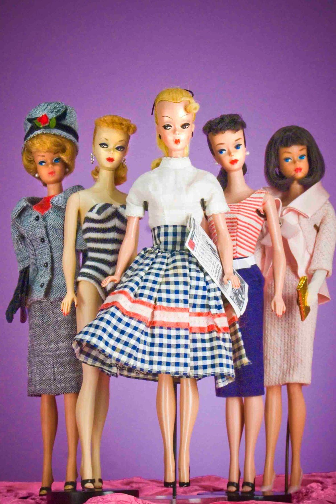 Vintage Barbie Viejos Juguetes Y Juegos Tradicionales Barbie