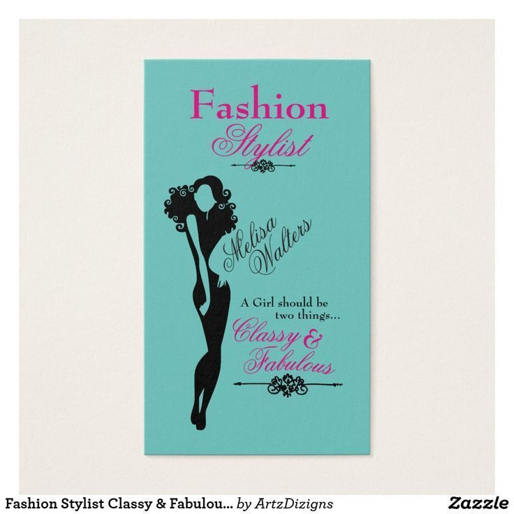 Image result for fashion stylist business cards