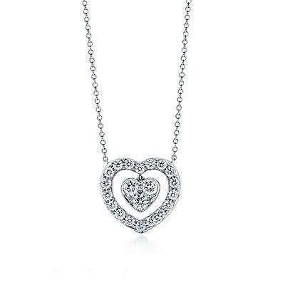 Tiffany co exquisite tiffany heart diamond pendant necklace tiffany co exquisite tiffany heart diamond pendant necklace aloadofball Gallery