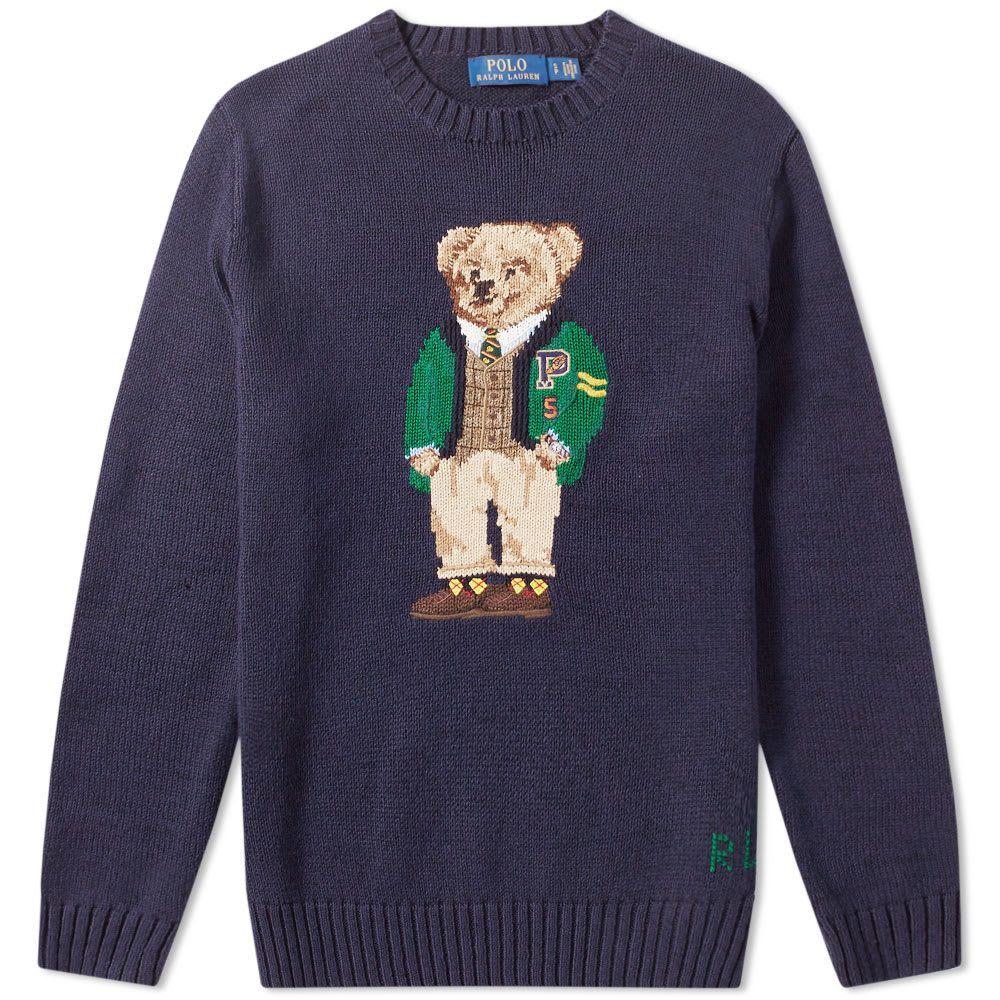 2c439ae5769 Polo Ralph Lauren Yale Bear Intarsia Knit | Stuff I like in 2019 ...